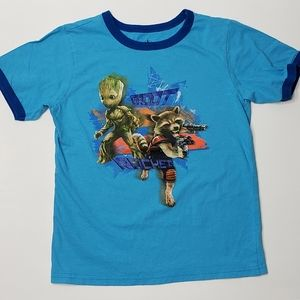 Disney Store Groot/Rocket Tshirt